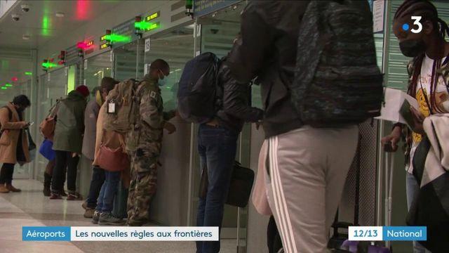 Coronavirus : les nouvelles règles aux frontières en vigueur dans les aéroports