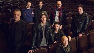 L'équipe de la comédie musicale Le Rouge et le Noir. (MAXPPP)