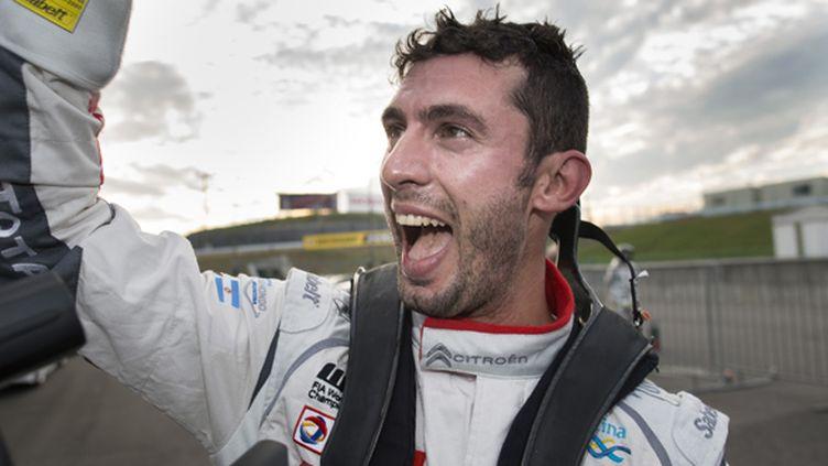 José Maria Lopez (ARG/Citroën C-Elysée): champion du monde de WTCC 2014 (FRANCOIS FLAMAND / DPPI MEDIA)