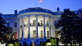 Un intrus s'est introduit dans la Maison Blanche (Washington, Etats-Unis), dans la nuit du 10 au 11 mars 2017. (JONAS EKSTROMER / TT NEWS AGENCY / AFP)