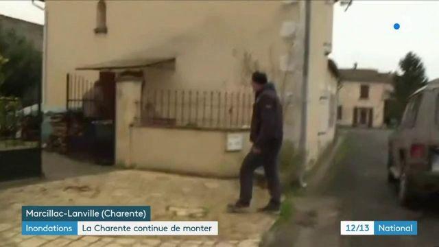 Inondations en Charente : la population s'organise face à l'inquiétante montée du niveau de l'eau