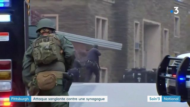Pittsburgh : attaque sanglante contre une synagogue