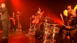 Weepers Circus sur scène  (France3/culturebox)