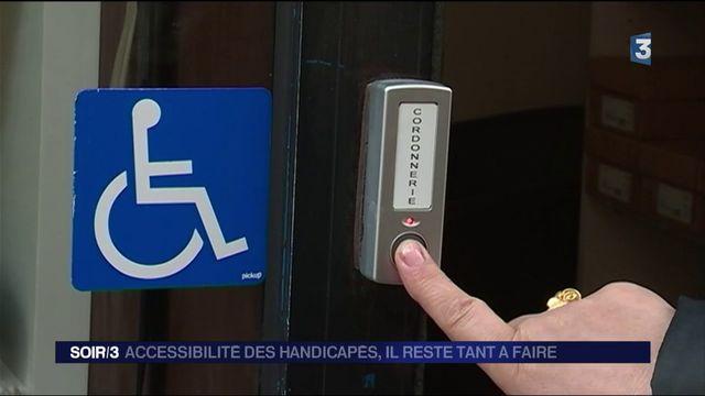 Accessibilité des handicapés : il reste beaucoup à faire