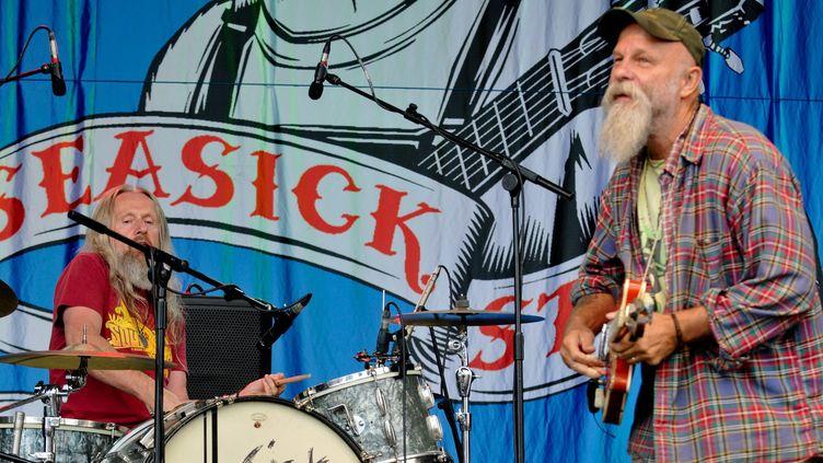Seasick Steve / Cornbury Festival 2012  (Jules Annan/PHOTOSHOT/MAXPPP)