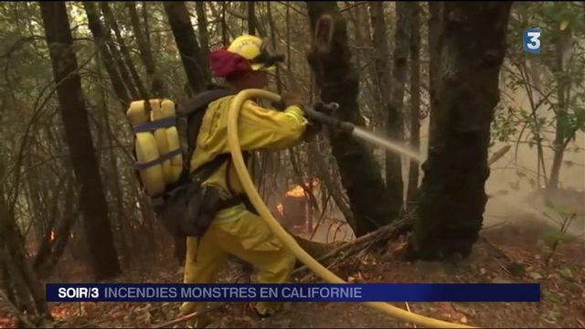 La Californie proie des flammes