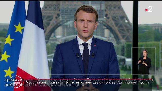 Covid-19 : les nouvelles mesures annoncées par Emmanuel Macron