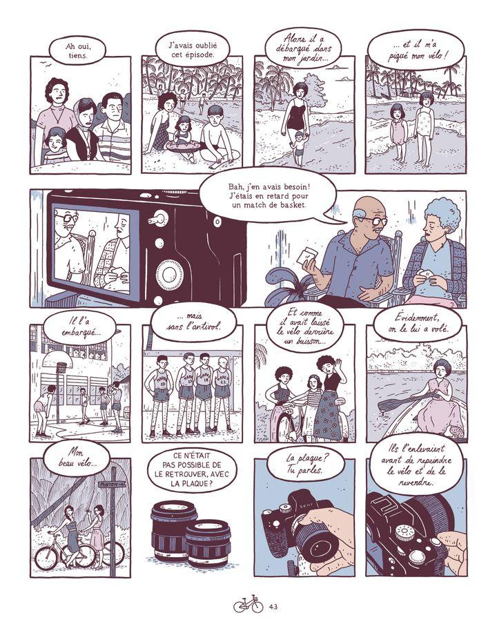 """""""Bons baisers de Limón"""" d'Edo Brenes (page 43) septembre 2021 (CASTERMAN)"""