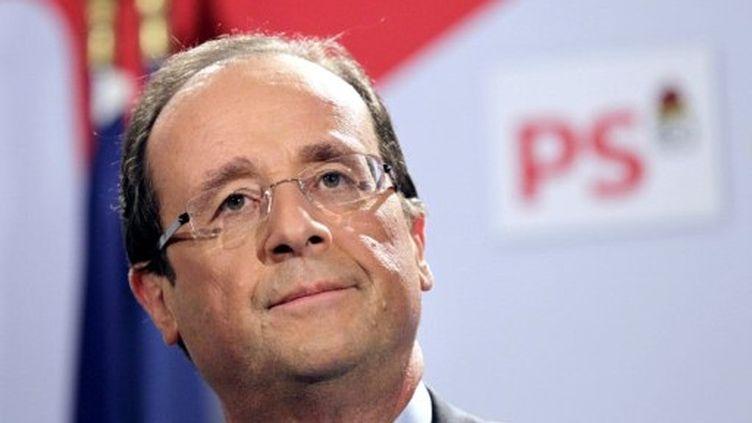 François Hollande, candidat du parti socialiste à l'élection présidentielle de 2012 (AFP)