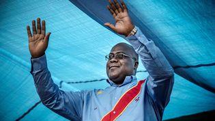 Félix Tshisekedi a remporté provisoirement l'élection présidentielle en République démocratique du Congo, mardi 8 janvier 2019. (LUIS TATO / AFP)