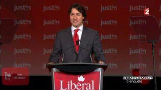 Justin Trudeau (CAPTURE ECRAN FRANCE 2)