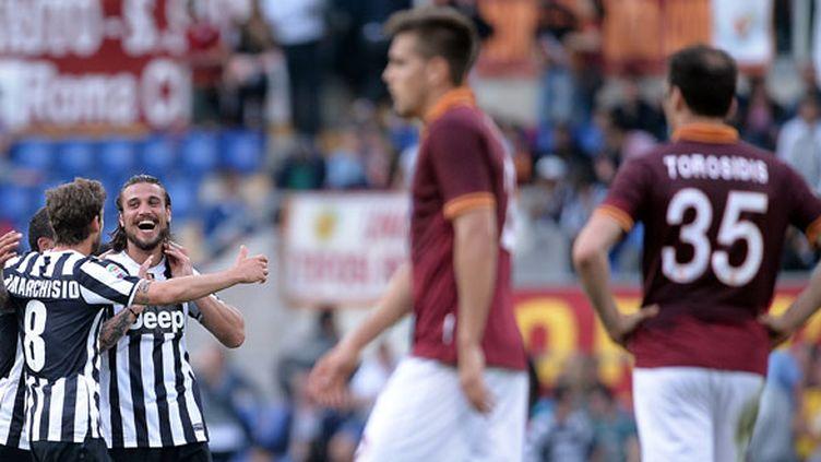 La joie des Turinois autour d'Osvaldo