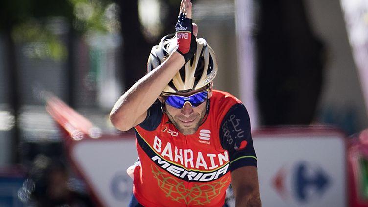 Deuxième victoire sur le Tour de Lombardie pour Vincenzo Nibali (JAIME REINA / AFP)