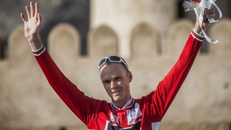 Chris Froome a conforté son maillot rouge de leader sur le Tour d'Oman
