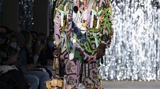 Présentation des créations deTom Van Der Borghtlors du festival de mode de Hyères 2020. (ARNOLD JEROCKI / GETTY IMAGES EUROPE)
