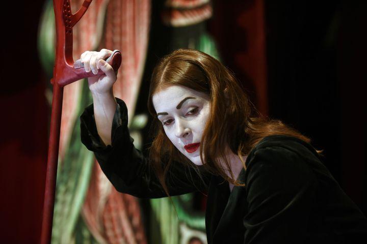 Elodie Bordas la femme aux mille visages de Richard III  (Tristan Jeanne-Valès)