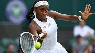 Coco Gauff ne pourra pas participer aux Jeux Olympiques à Tokyo. (GLYN KIRK / AFP)