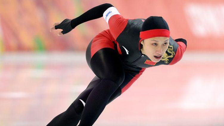 Zhang championne olympique du 1000 m en patinage de vitesse