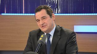Jean-Frédéric Poisson, président du Parti chrétien-démocrate. (RADIO FRANCE / JEAN-CHRISTOPHE BOURDILLAT)