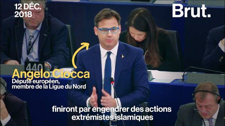 """VIDEO. """"Cessez cette propagande !"""" : tensions au Parlement européen au lendemain de l'attentat de Strasbourg (BRUT)"""