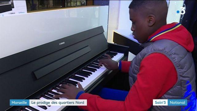 Marseille : un prodige du piano de 14 ans découvert à l'hôpital