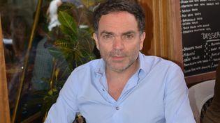 L'écrivain Yann Moix, le 23 mai 2017 à Cannes (Alpes-Maritimes). (JACKY GODARD / AFP)