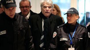 Bernard Tapie, le 14 mars 2019 au palais de justice de Paris. (CHRISTOPHE PETIT TESSON / EPA / SIPA)