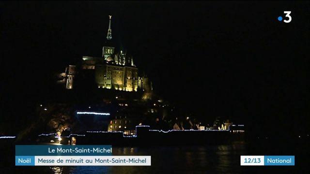 Noël : messe de minuit au Mont-Saint-Michel
