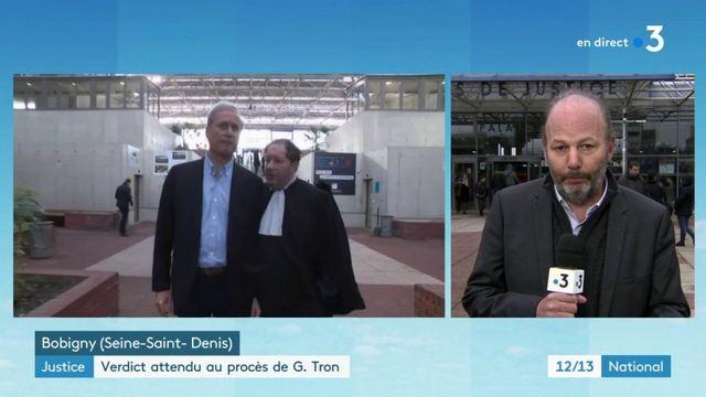 Justice : verdict attendu au procès de Georges Tron