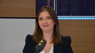 Aurore Bergé,députée La République en marche des Yvelines. (RADIO FRANCE / JEAN-CHRISTOPHE BOURDILLAT)