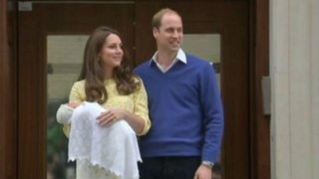 Les premières images du nouveau Royal Baby