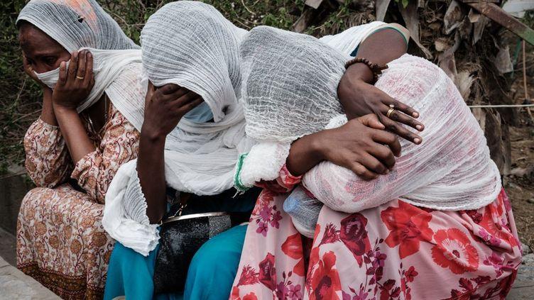 Dans la région du Tigré, en Ethiopie, les femmes sont devenues des cibles. Les viols sont des armes de guerre pour détruire le moral de la population. (YASUYOSHI CHIBA / AFP)