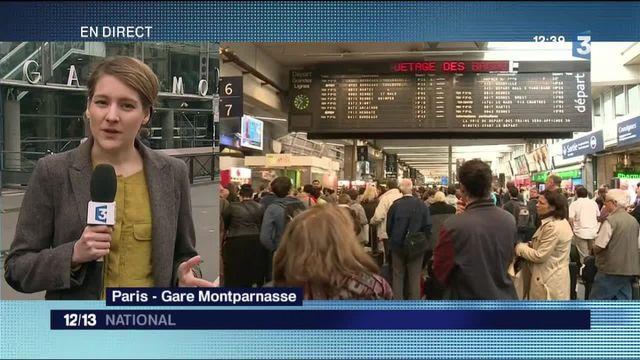 À la gare Montparnasse, un retour progressif à la normale