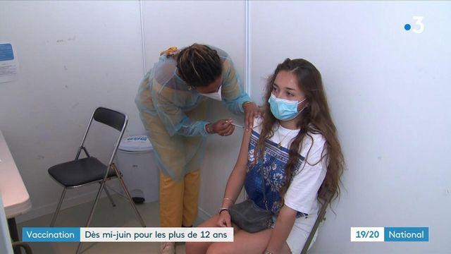 Vaccincontre le Covid-19 : les 12-18 ans intègreront la campagnele 15 juin