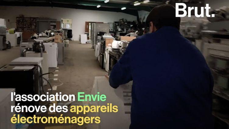 VIDEO. Une association offre une seconde vie à des appareils électroménagers (BRUT)