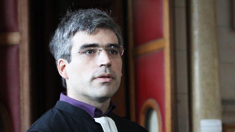 (Me Joseph Breham, l'un des avocats d'un ex-détenu de Guantanamo © MAXPPP)