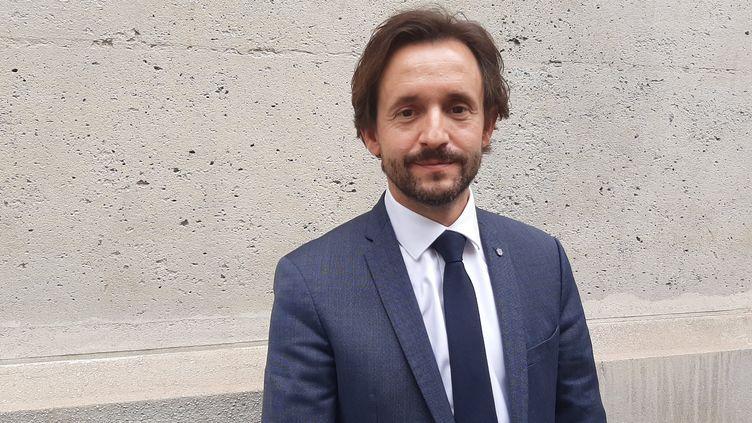 Nicolas Lacroix, Président du conseil départemental de Haute-Marne. (SEBASTIEN BAER / RADIO FRANCE)