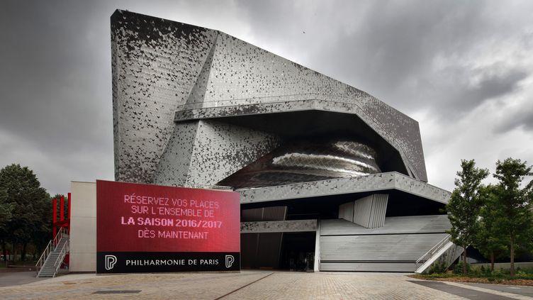 Philharmonie de Paris, juin 2016  (MANUEL COHEN / MCOHEN / AFP)