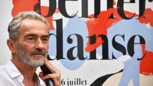 Le chorégraphe Angelin Preljocaj au festival Montpellier Danse, le 23 juin 2019 (PASCAL GUYOT / AFP)