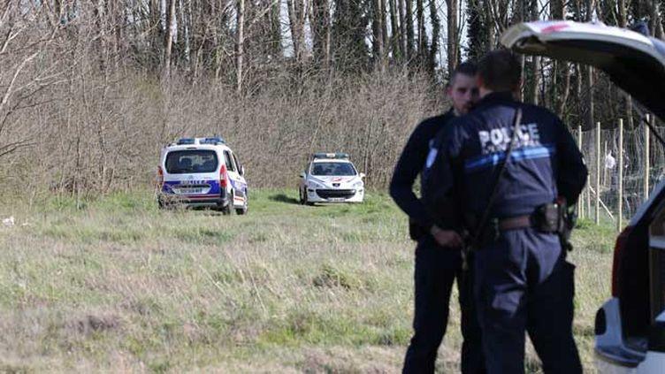 (C'est dans le bois de Dubrulle à Calais que le corps de la petite Chloé a été découvert mercredi © Maxppp)