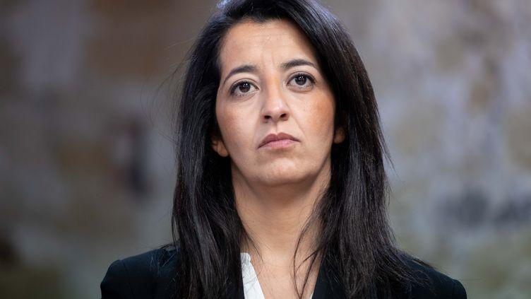 La députée européenne EELV, Karima Delli, le 25 mars 2019 à Paris. (CHRISTOPHE MORIN / MAXPPP)
