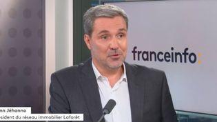 Yann Jéhanno, président du réseau immobilier Laforêt. (FRANCEINFO / RADIOFRANCE)