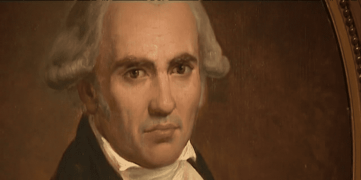 Portrait de Gaspard Monge considéré comme l'un des principaux fondateurs de Polytechnique. Oeuvre exposée au Musée de l'X  (France 3)