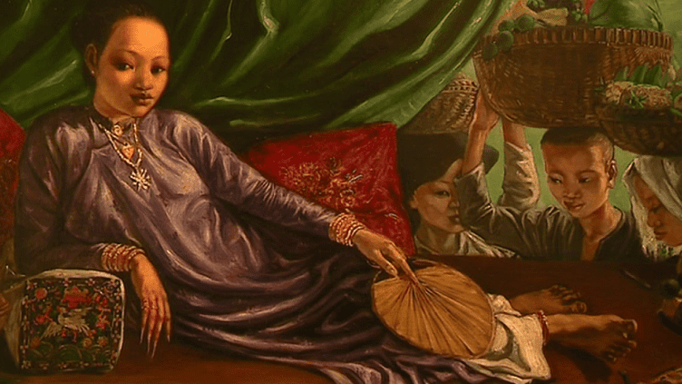 De ses voyages, André Maire a rapporté plus que des portraits, des rencontres.  (copie d'écran France 3 )