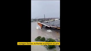 L'ouragan Dorian a frappé les Bahamas (FRANCEINFO)