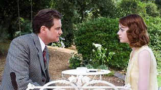 "Colin Firth et Emma Stone dans ""Magic in the moonlight"".  (DR)"