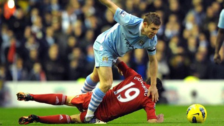 James Milner (Manchester City) prend le dessus sur Stewart Downing (Liverpool)
