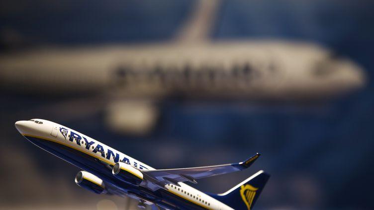 """La compagnie low cost Ryanair comparaît à Aix-en-Provence (Bouches-du-Rhône), le 30 mai 2013, pour """"travail dissimulé"""". (LUCAS JACKSON / REUTERS)"""