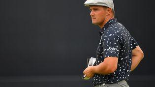 Le golfeur américain Bryson DeChambeaulors d'une compétition au Royaume-Uni, le 15 juillet 2021. (ANDY BUCHANAN / AFP)