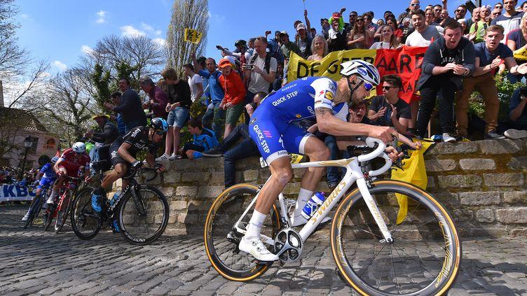 Tom Boonen, sur son dernier Tour des Flandres. (DE WAELE TIM / TDWSPORT SARL)